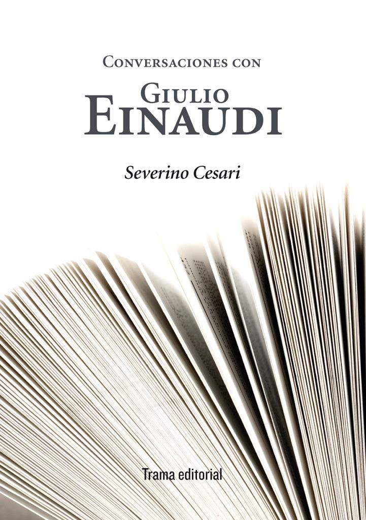 Conversaciones de Giulio Einaudi