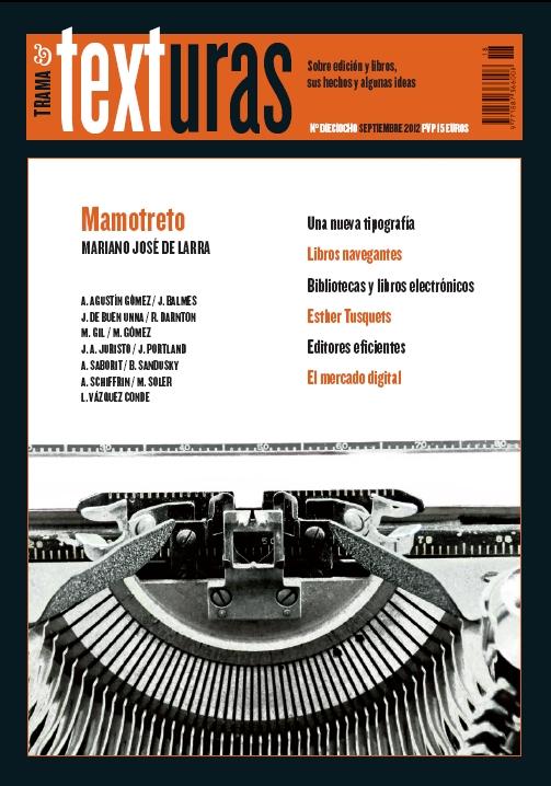 """Trama & TEXTURAS 18 """"Mamotreto"""""""