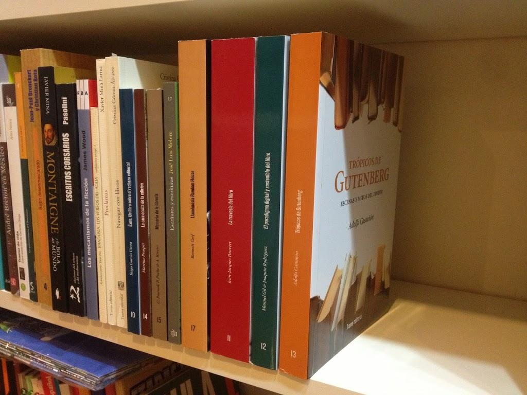 Tipos móviles en Libros y café de Cáceres