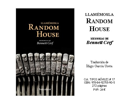 Llamémosla Random House en The Cult