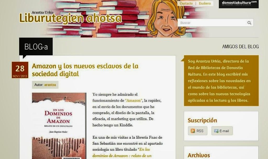 En los dominios de Amazon en los medios