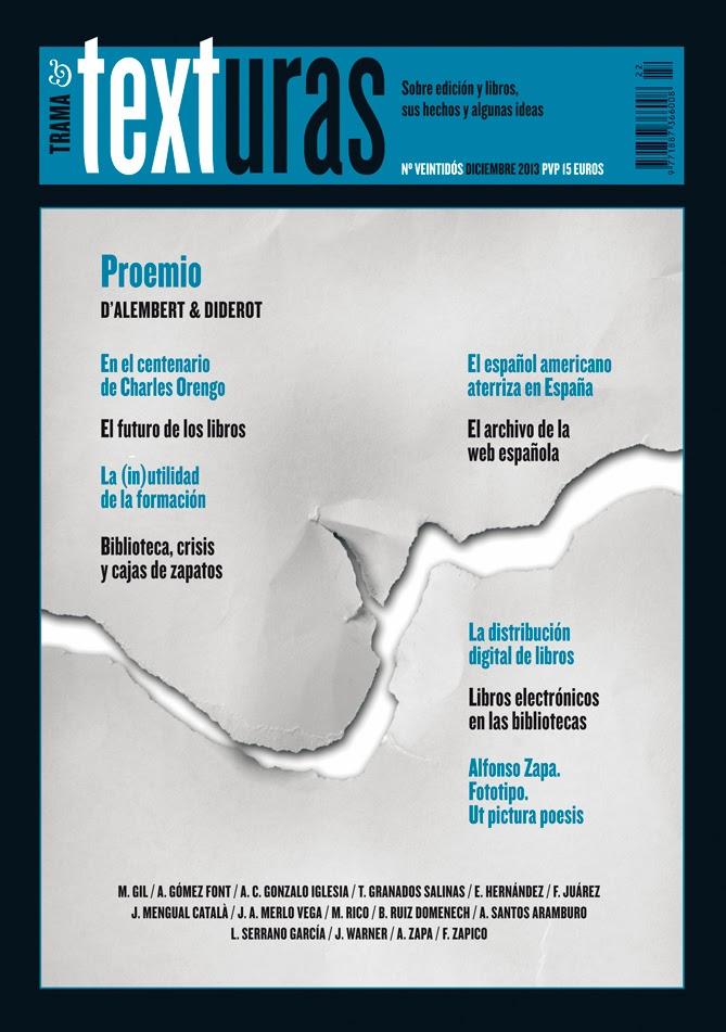 Revista Trama&Texturas 22 ya en la calle
