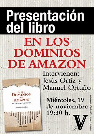 Amazon y sus medias verdades. Hoy charlaremos con Jean-Baptiste Malet en la librería Stvdio de Santander