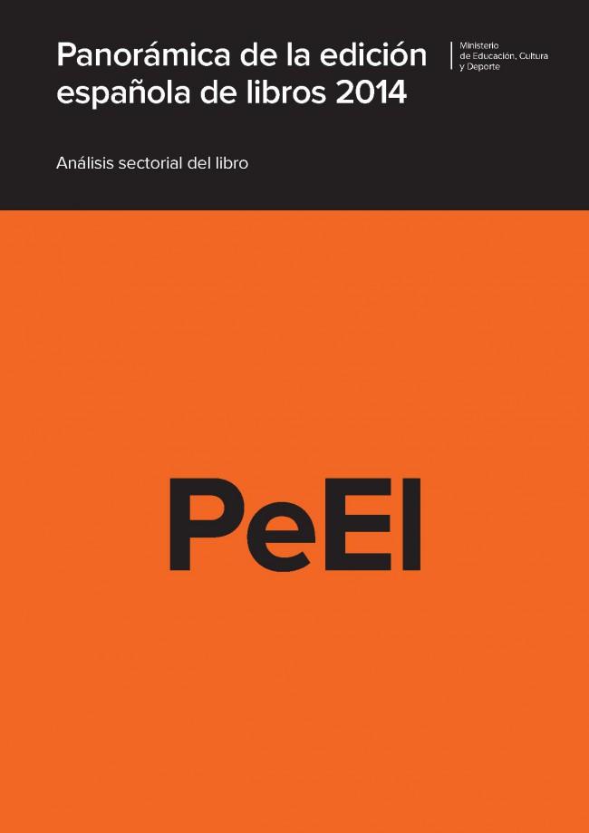 Panorámica de la edición española de libros. 2014