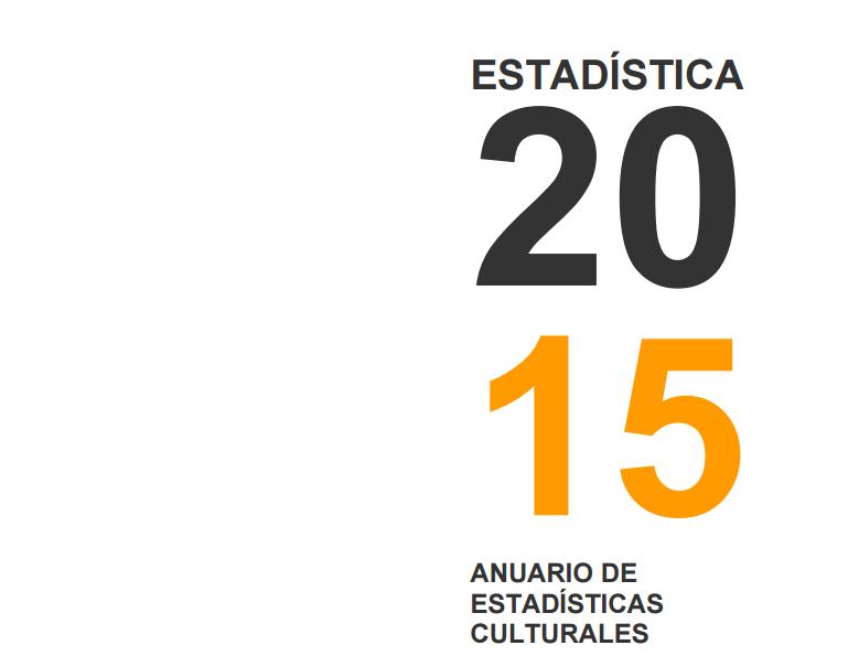 Anuario de Estadísticas culturales 2015