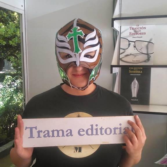 Trama Editorial en la Feria del libro de Madrid