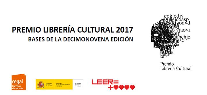 Se convoca la decimonovena edición del Premio Librería Cultural