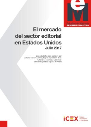 El mercado del sector editorial en Estados Unidos. ICEX