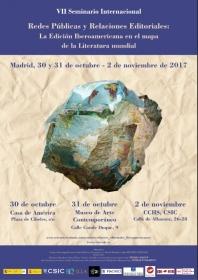 """VII Seminario Internacional """"Redes públicas y Relaciones editoriales: La Edición Iberoamericana en el mapa de la Literatura mundial"""""""