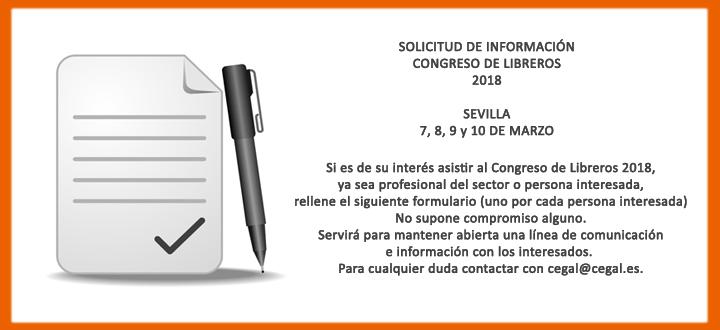 Del 7 al 10 de marzo de 2018 Congreso de libreros en Sevilla