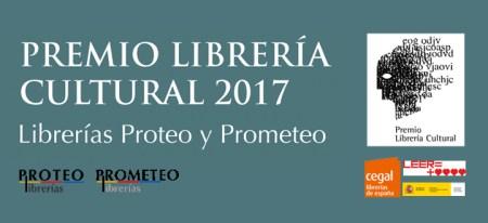 Felicidades a la Librería Proteo Prometeo por su premio como Librería cultural 2017