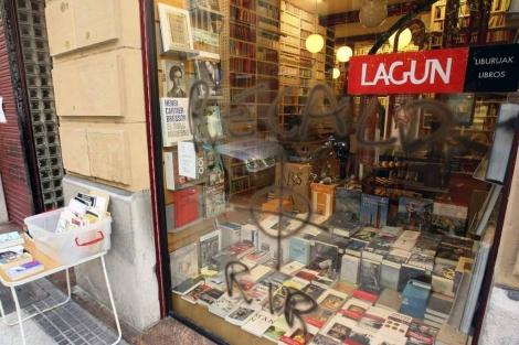 Librerías heroicas. Jesús Casquete en Diario Vasco
