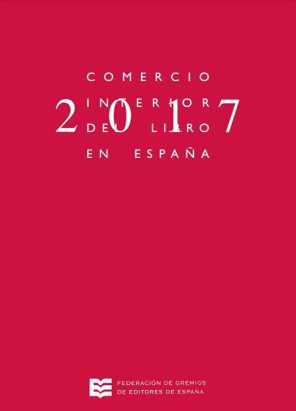Comercio interior del libro en España 2017