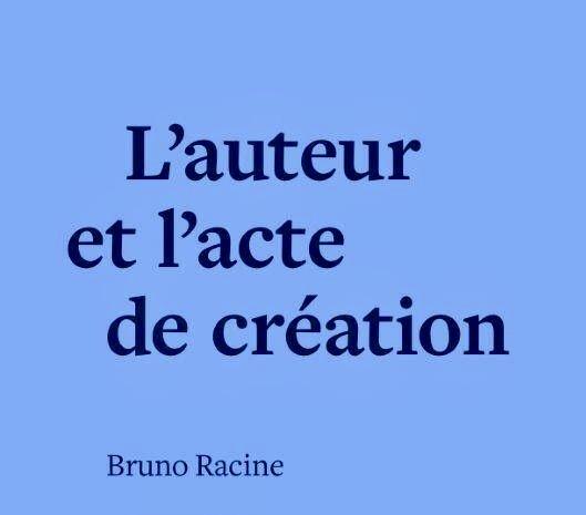 El autor y el acto de creación