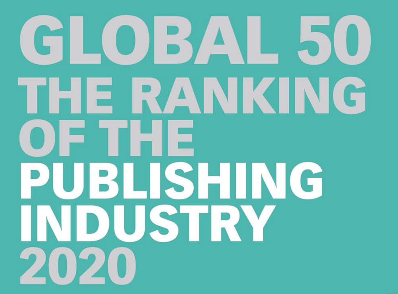 The Global 50 World Publishing Ranking 2020 acaba de ser publicado