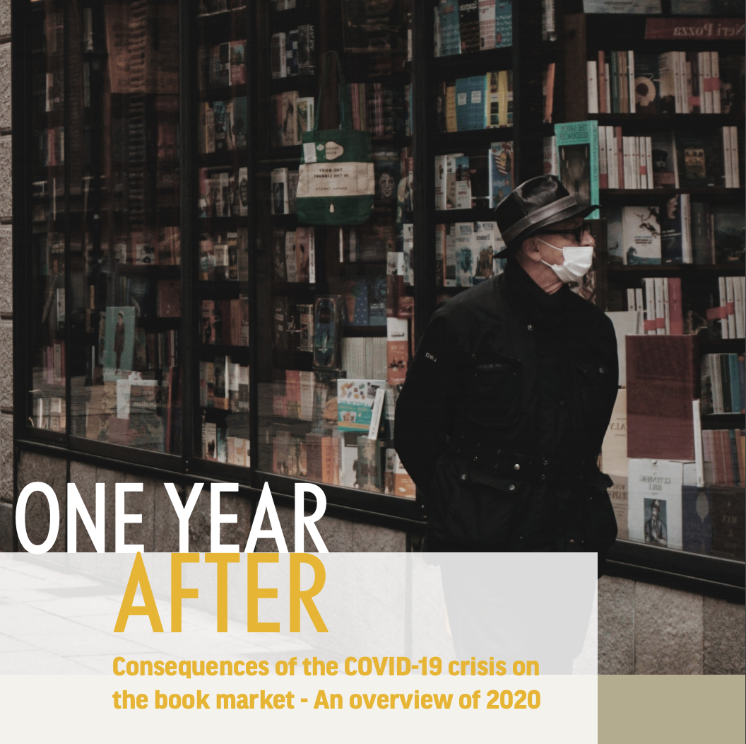 «One year after». Consecuencias de la crisis de COVID-19 en el mercado del libro - Una visión general de 2020.